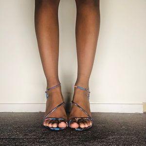 Multi colored heels!